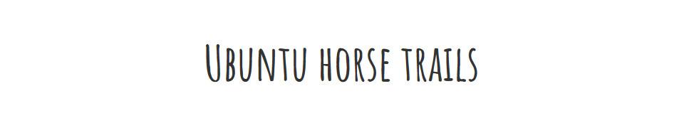 Horse riding at the Pink Geranium