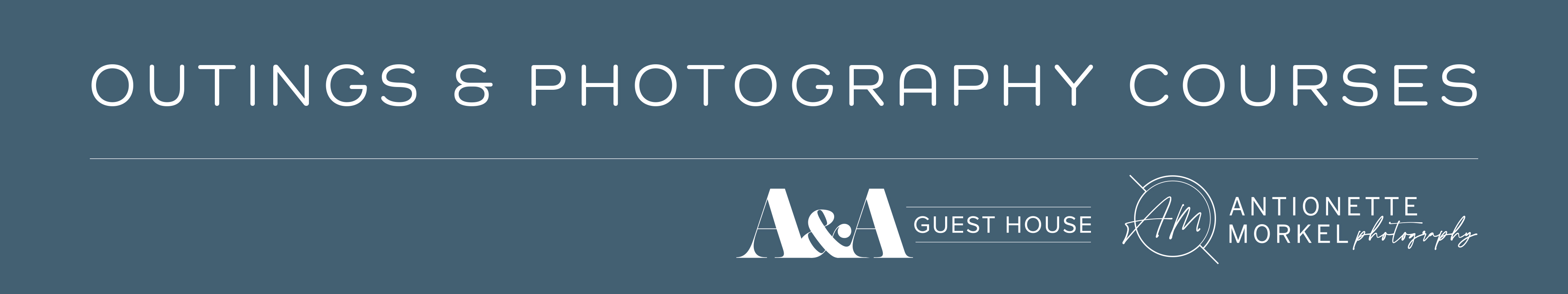Photography Workshops at A&A Guesthouse