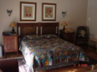 Double Room 3: Queen bed, + 1 single
