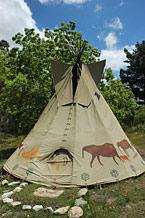 TiPi Perminat Indian Tent - Elephant
