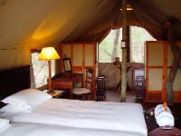 Plains Camp - Twin luxury tent