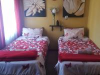 Room 5 Inside 2 x Single Beds