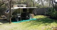 Giraffe B DOUBLE camping site 8 guests