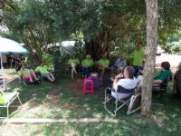 Rhino B DOUBLE camping site 8 guests
