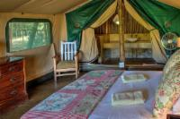 Tents with double beds