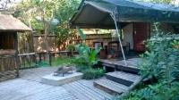 Safari Tent 1: Double & Single Beds