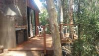 Boshuisie (bush cabin, no electricity)