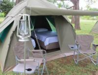 All Inclusive Tent - 3/4 Beds - Power