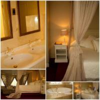 HoneymoonSuite2 MainHouse KingBed Bath
