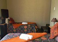 Standard twin room single beds