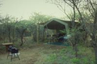 Russet Bush Rustic / Kierieklapper-Tent 1