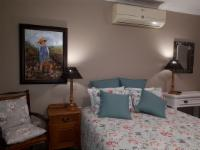 Queen bed with aircon, bath and shower
