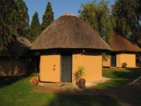 Twin Thatched Rondavel