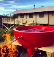 Luxury Hot Tub Tent