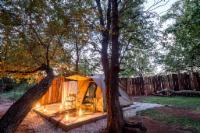 Sausage tree tent
