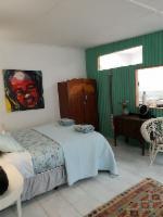 The Island Studio and bedroom